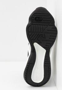Emporio Armani - High-top trainers - black/silver - 6