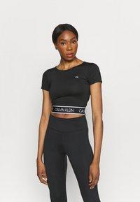 Calvin Klein Performance - T-shirt print - black - 0