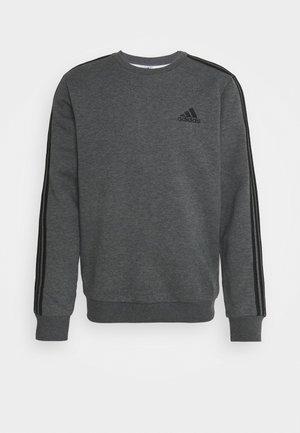 STRIPES ESSENTIALS - Sweatshirt - dark grey heather/black