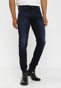 G-Star - 3301 SLIM - Slim fit jeans - dark aged - 0