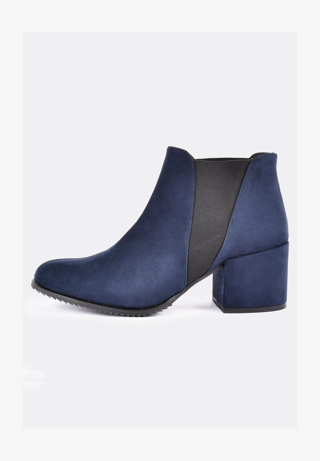 Ankle boot - navy blue