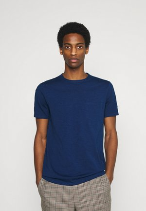 SHORT SLEEVE NECK BINDING - T-shirt basic - estate blue