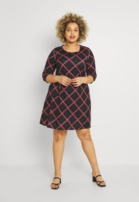 CAPSULE by Simply Be - SLEEVE SWING DRESS - Day dress - pink - 0