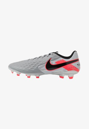 TIEMPO LEGEND 8 ACADEMY FG/MG - Moulded stud football boots - metallic bomber grey/black/particle grey