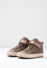 Geox - KALISPERA GIRL - High-top trainers - smoke grey - 3
