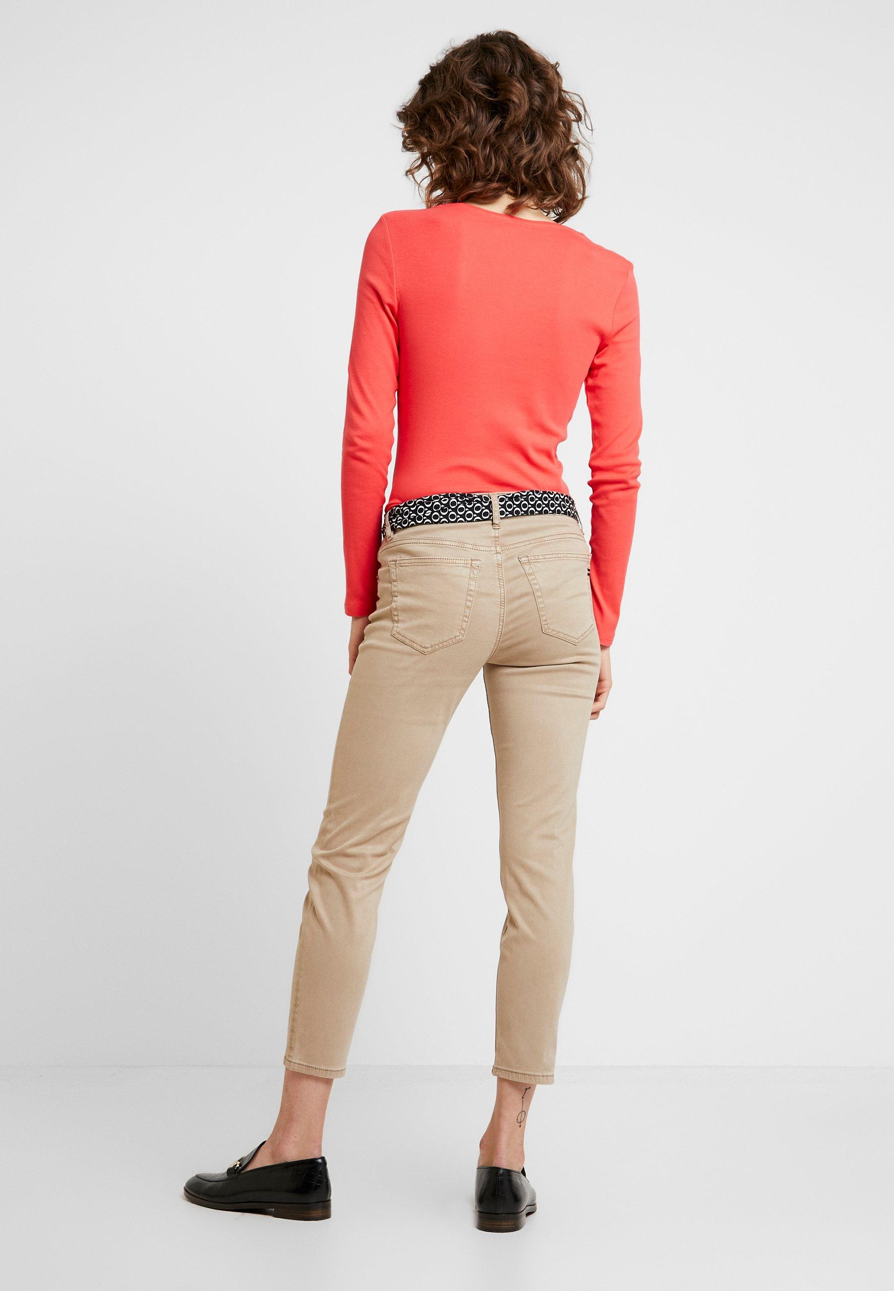 Marc O'Polo MID WAIST - Pantalon classique - norse sand - Pantalons & Leggings Femme qs6YT