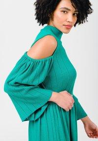 Solai - Jumper dress - ultramarine green - 5