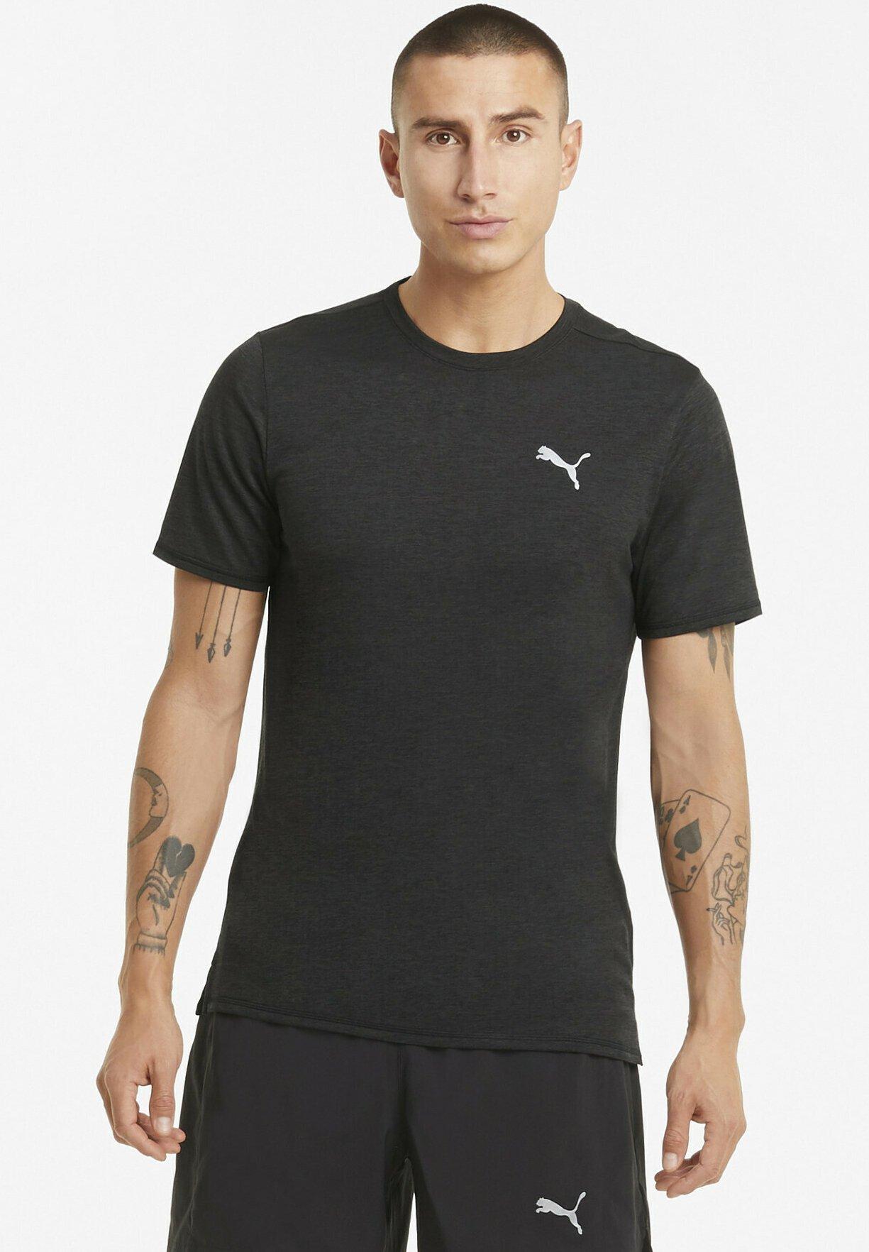 Herrer RUN FAVORITE HEATHER TEE - T-shirts basic