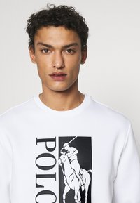 Polo Ralph Lauren - DOUBLE TECH - Sweatshirt - white - 4