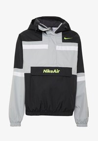 Nike Sportswear - M NSW NIKE AIR JKT WVN - Větrovka - smoke grey/black/white - 3