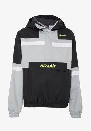 M NSW NIKE AIR JKT WVN - Tuulitakki - smoke grey/black/white