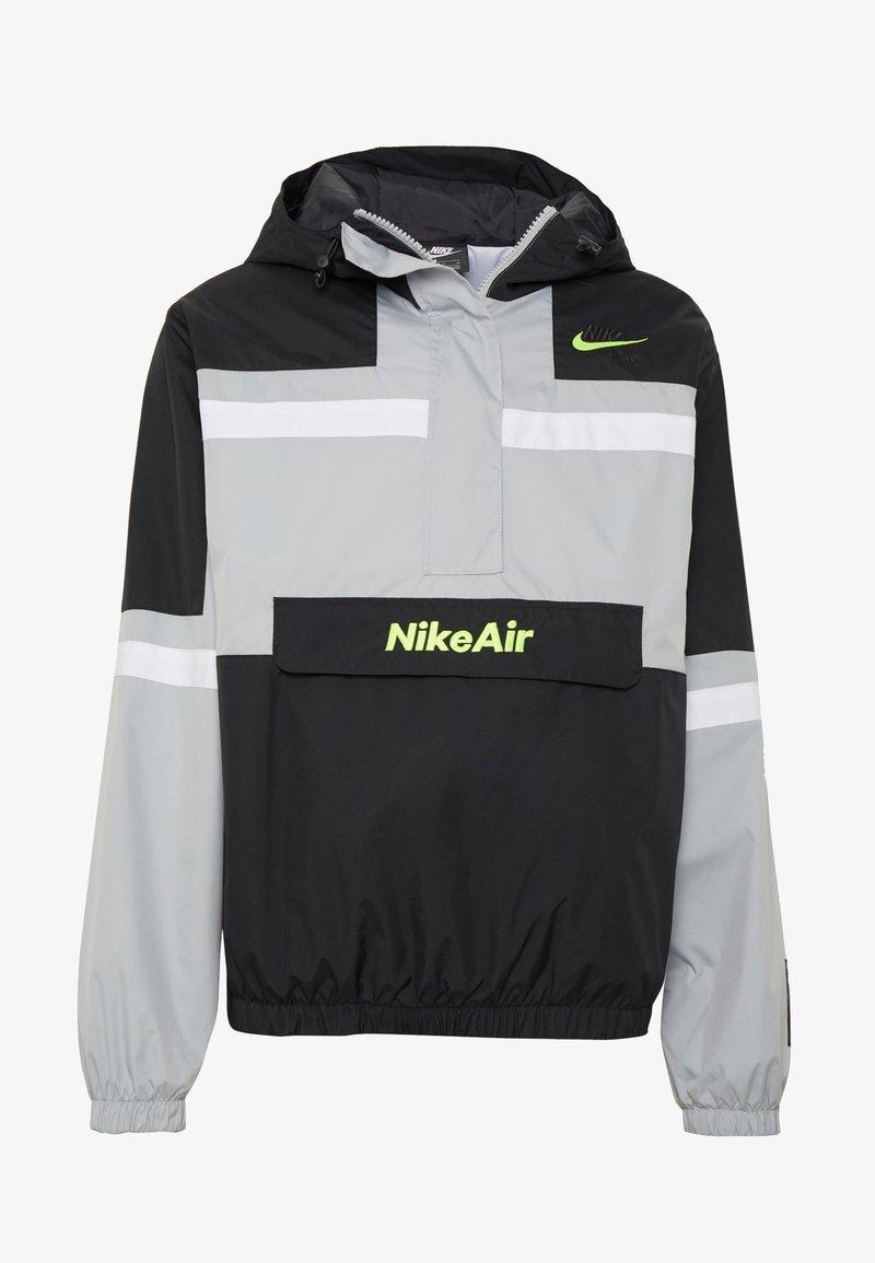 Risa ir de compras Fuera de servicio  Nike Sportswear M NSW NIKE AIR JKT WVN - Windbreaker - smoke  grey/black/white/light grey - Zalando.co.uk