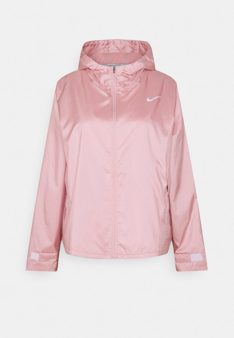 Nike Performance - ESSENTIAL JACKET PLUS - Sports jacket - pink glaze/reflective silver