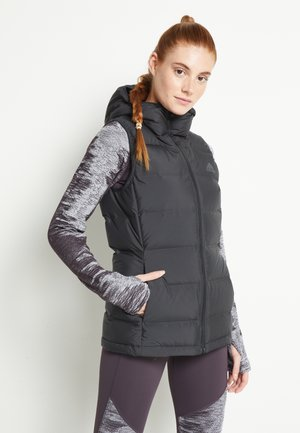 HELIONIC DOWN VEST - Bodywarmer - black