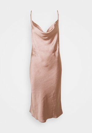 DANCE FLOOR NUISETTE - Nightie - rose fonce satin