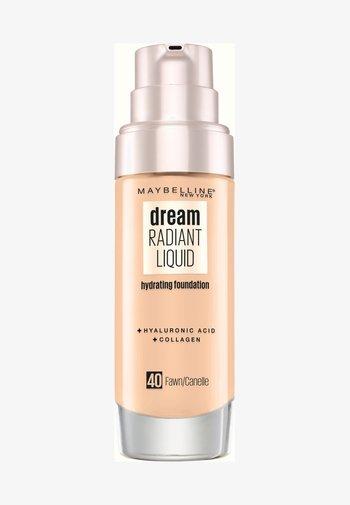 DREAM RADIANT LIQUID MAKE-UP - Foundation -  40 fawn