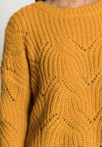 ONLY - ONLHAVANA - Maglione - golden yellow - 4