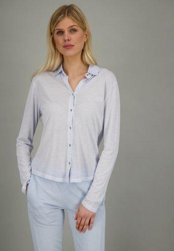 SOHO  - Button-down blouse - water
