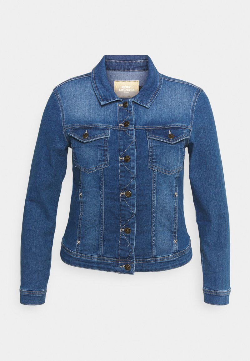 ONLY Carmakoma - CARWESPA LIFE JACKET  - Jeansjakke - medium blue denim