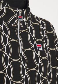 Fila - HONZA HALF ZIP  - Training jacket - black - 2