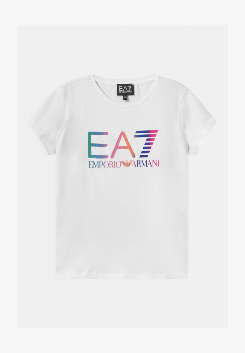 Emporio Armani - EA7  - Triko spotiskem - white
