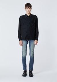 The Kooples - COL CUIR - Shirt - black - 1