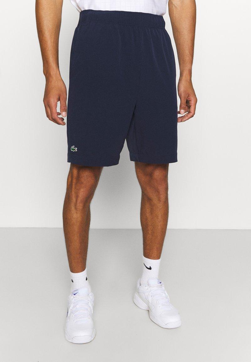 Lacoste Sport - TENNIS SHORT - Urheilushortsit - navy blue/white