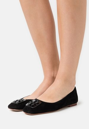 SQUARE TOE BALLET - Baleríny - black
