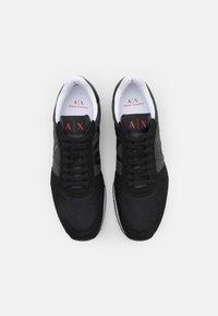 Armani Exchange - Sneakers basse - full black - 3
