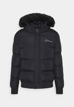 SHORT PUFFER  - Winterjacke - black