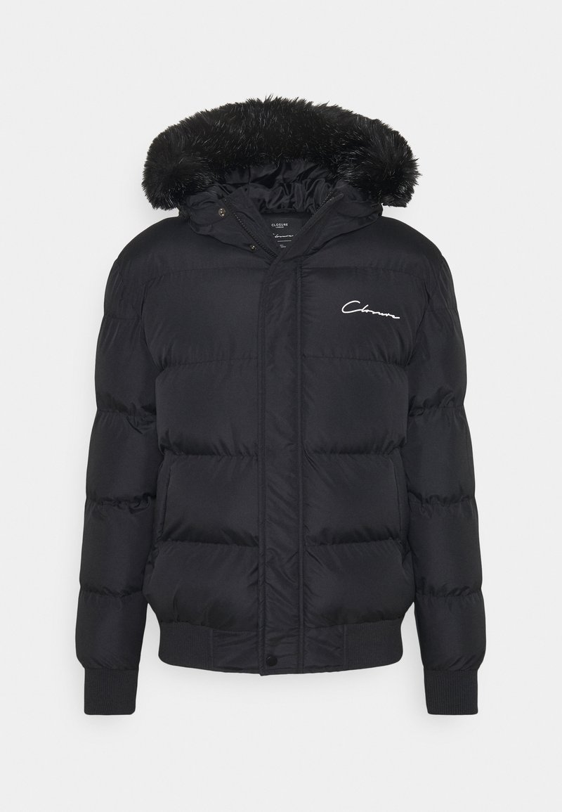 CLOSURE London - SHORT PUFFER  - Giacca invernale - black