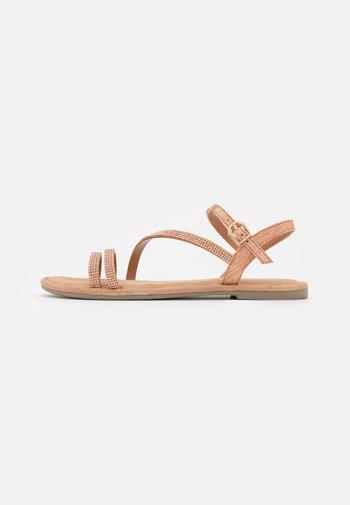 Sandals - copper glam