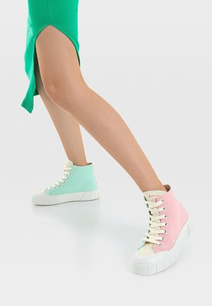 Vysoké tenisky - multi coloured