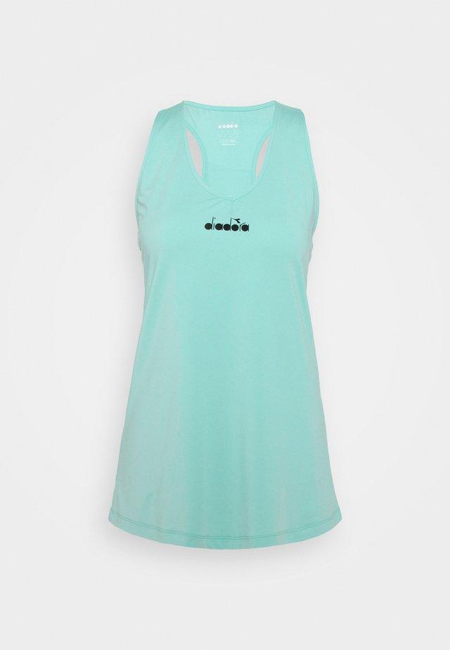 TANK EASY  - Top - tint blue