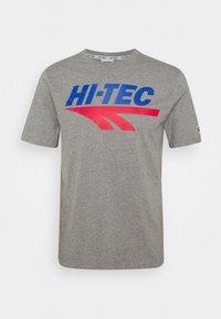 Hi-Tec - BEN - T-shirt print - collegiate grey marl - 4