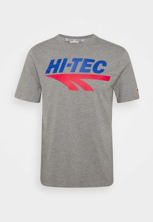 BEN - Print T-shirt - collegiate grey marl