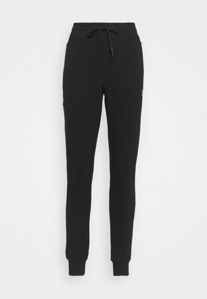 ZEHRI - Tracksuit bottoms - black