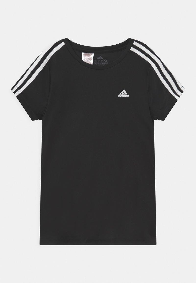 adidas Performance - UNISEX - T-shirt imprimé - black/white