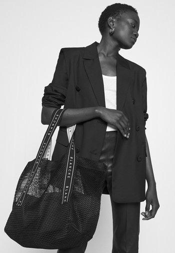TOTE LOGO - Tote bag - black