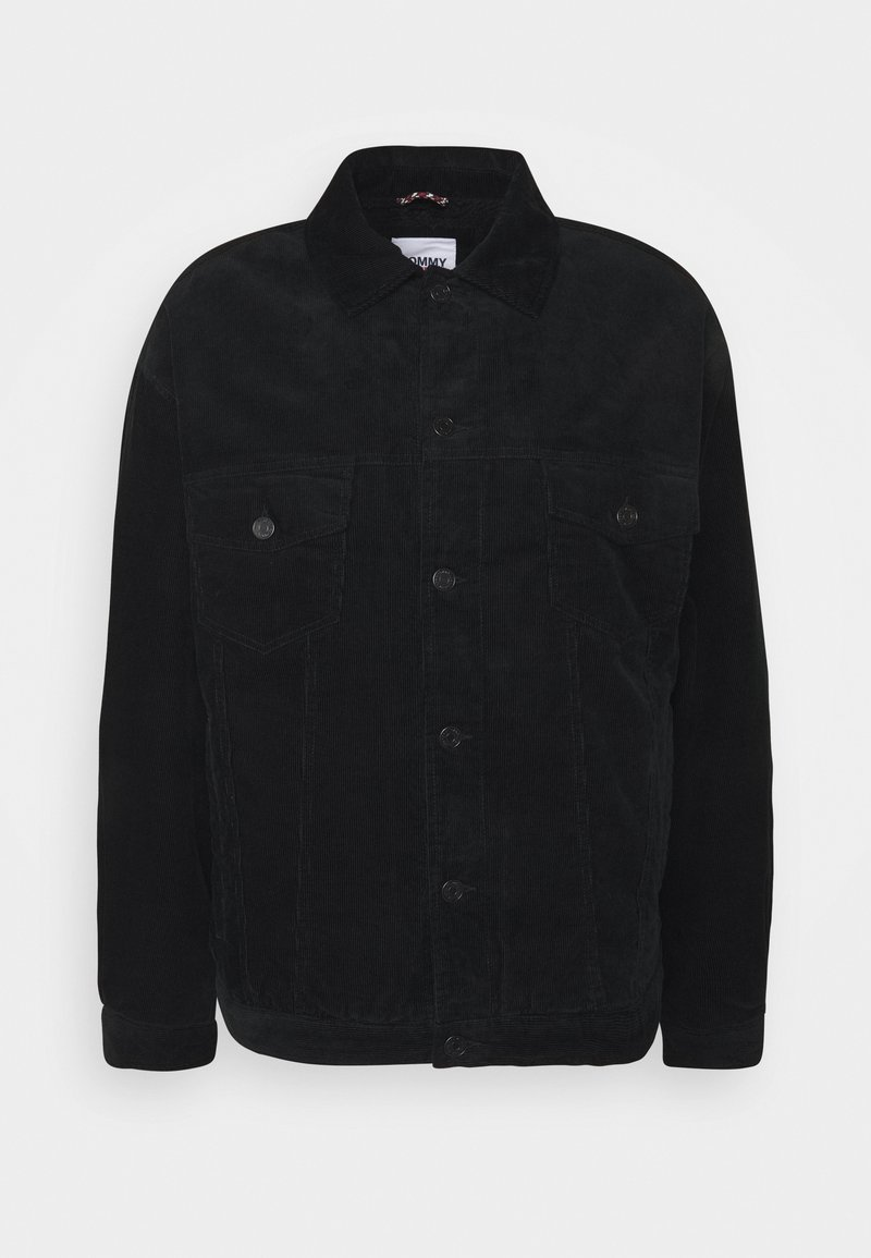 Tommy Jeans - TRUCKER UNISEX - Light jacket - black