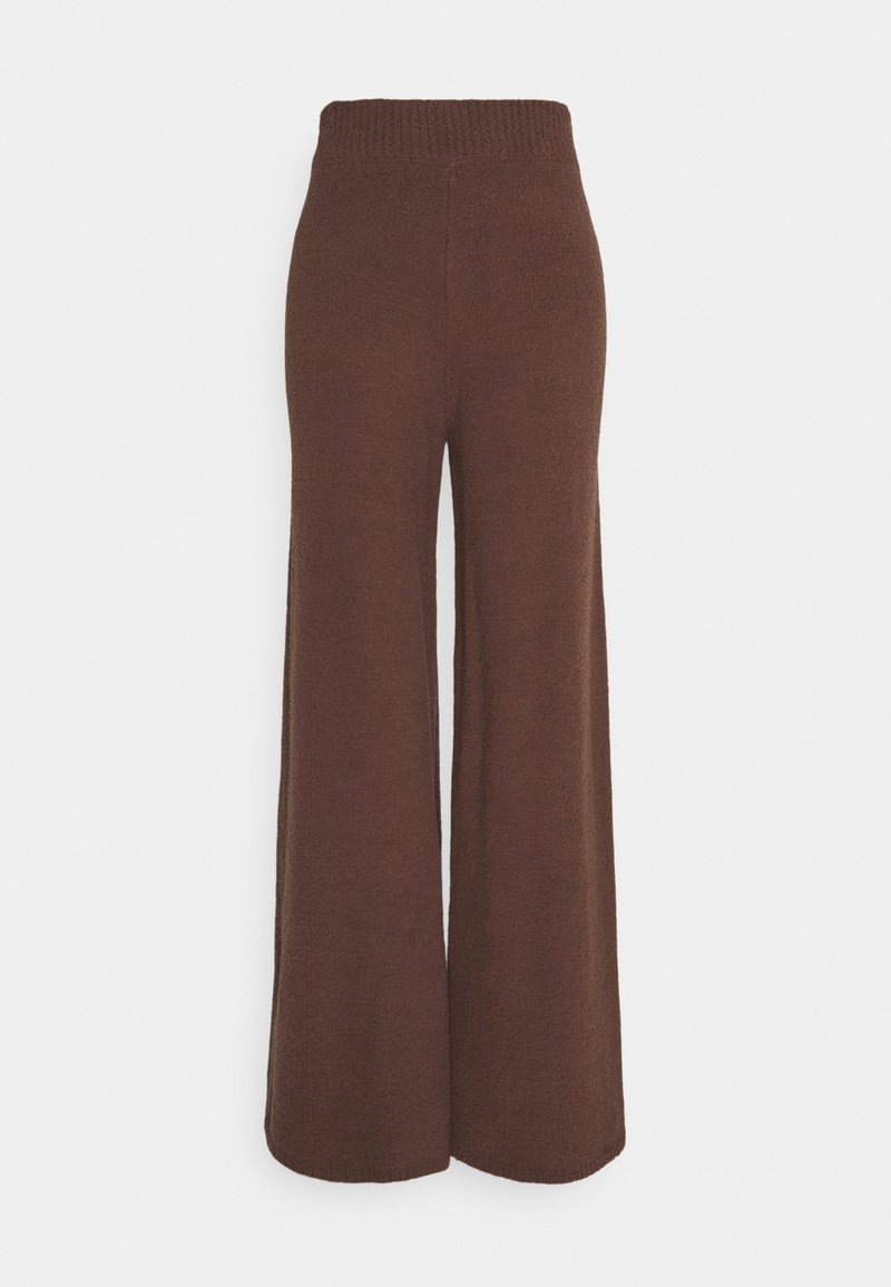 NA-KD - NA-KD X ZALANDO EXCLUSIVE - FLUFFY PANTS - Broek - nougat