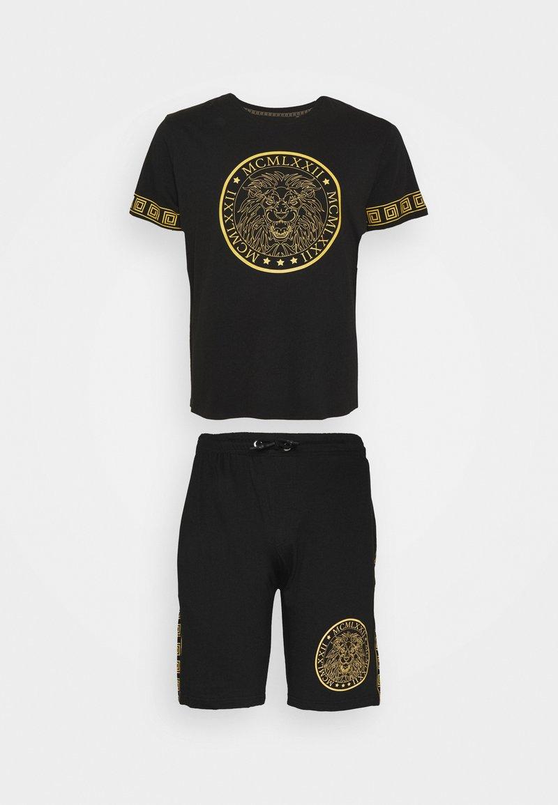 Brave Soul - LION SET - Shorts - black
