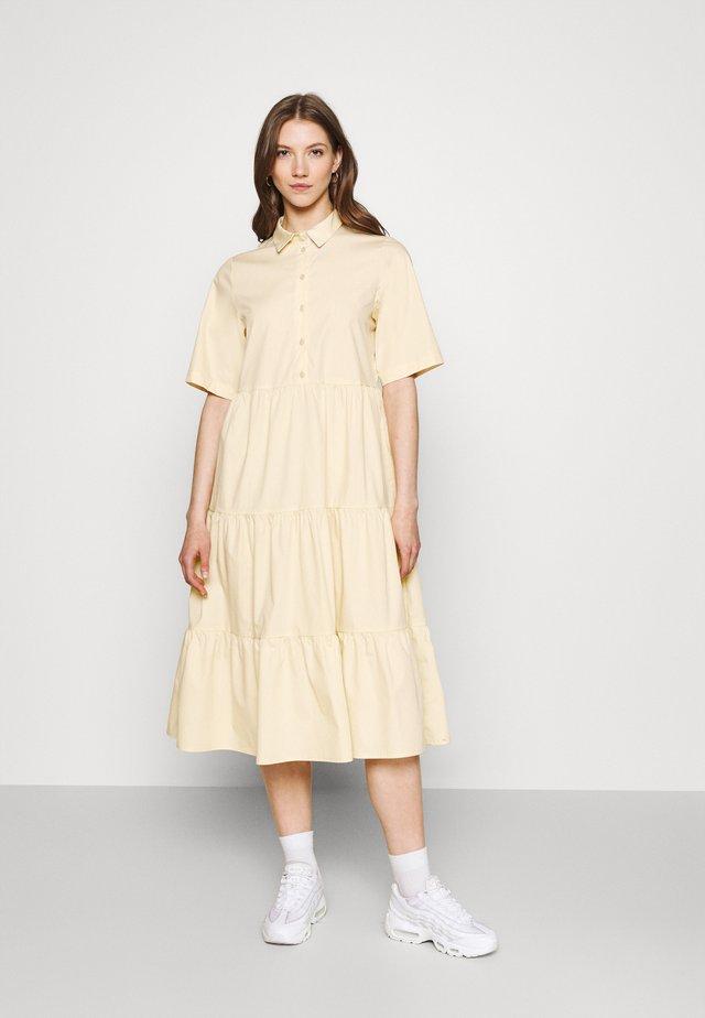 RONJA DRESS - Shirt dress - beige dusty light