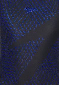 Speedo - BOOM LOGO  - Swimsuit - black/blue - 7