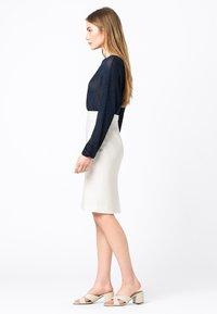HALLHUBER - Pencil skirt - offwhite - 1