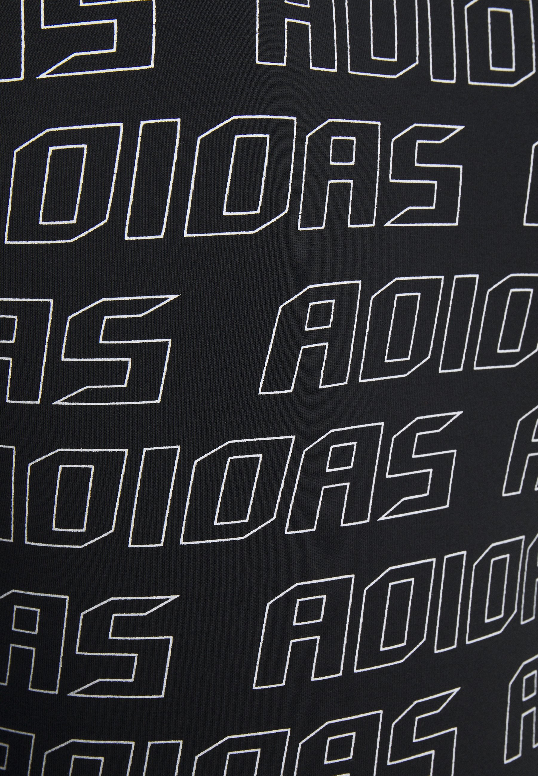 adidas Performance Long sleeved top - black/white CFn9q