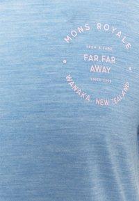 Mons Royale - VAPOUR TEE - Basic T-shirt - faded denim - 2