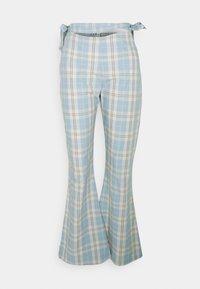 Milk it - PLAID  - Pantaloni - dusty blue - 0