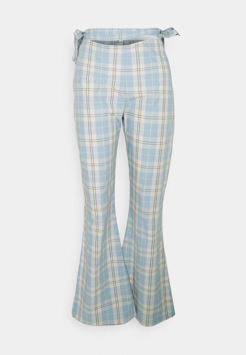 Milk it - PLAID  - Pantaloni - dusty blue