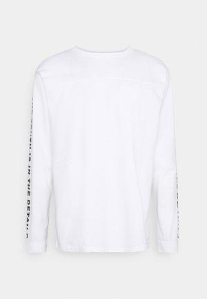 BECKTON TEE - Long sleeved top - white